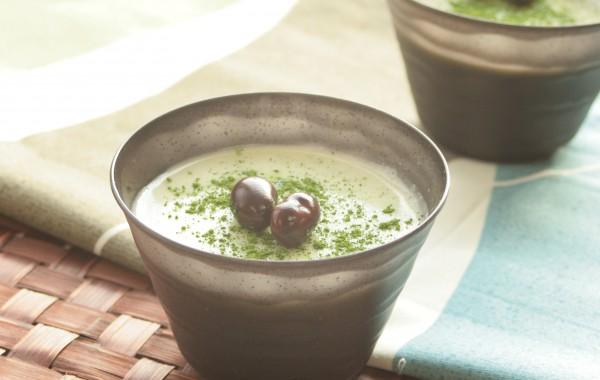 緑茶ぷりん