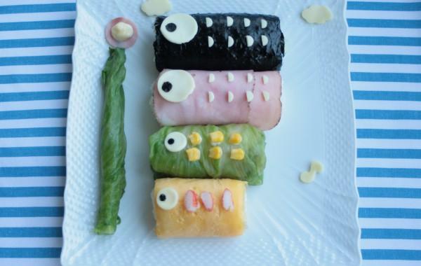 こどもの日♪こいのぼり寿司