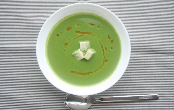 ほうれん草のおいしいスープ