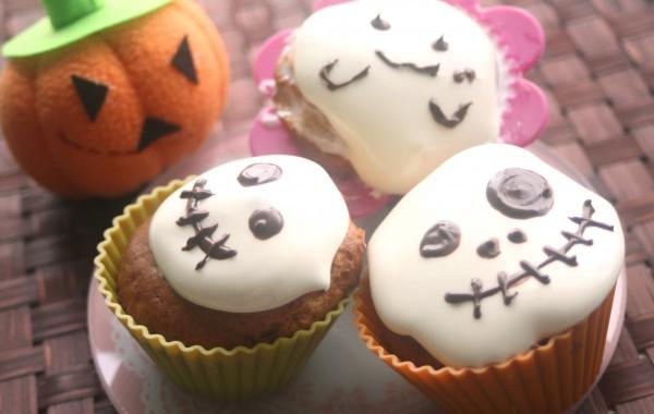 ハロウィン・カップケーキ