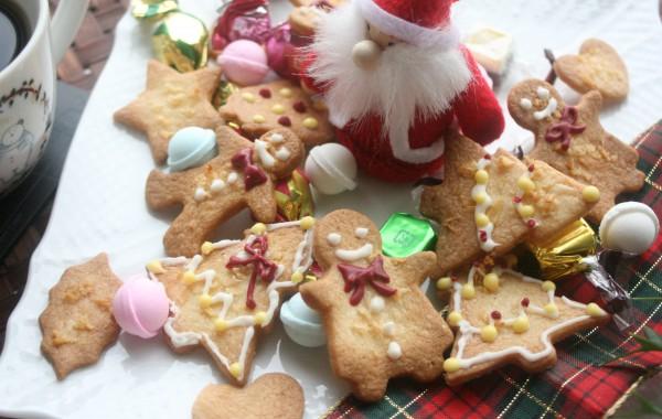 クリスマスに♪ジンジャーマンクッキー