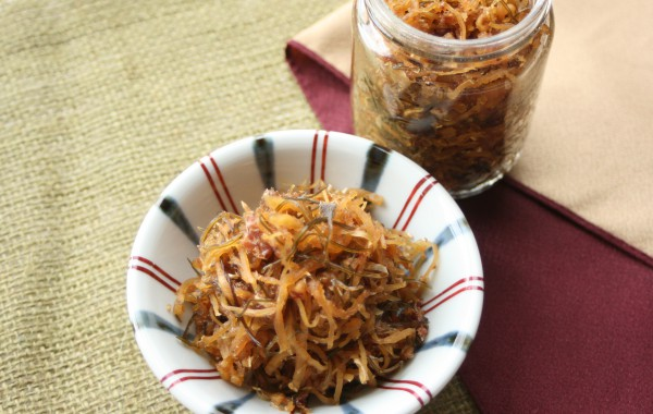 生姜と切干大根の佃煮