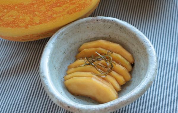 錦糸瓜の酢醤油漬け