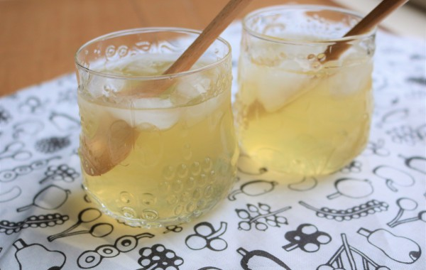 りんご酢ドリンク