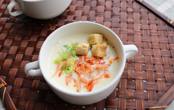 台湾風豆乳スープ