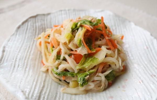彩り野菜のマヨポン和え