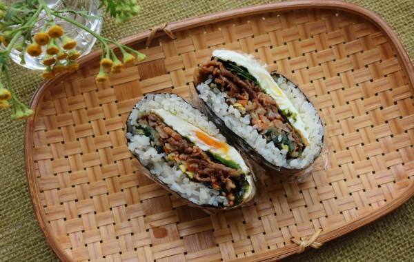 折りたたみキンパ寿司